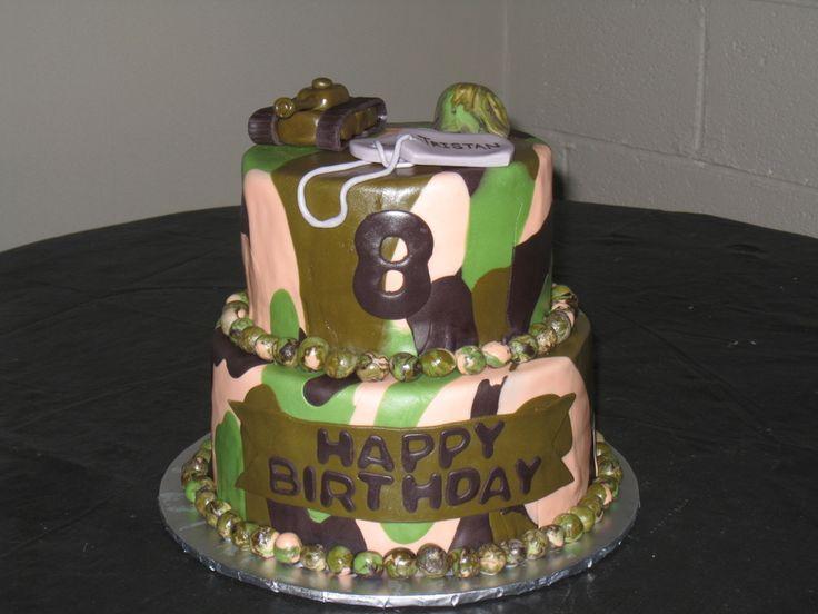 11 Military Camo Birthday Cakes Photo Army Camouflage Cake Ideas