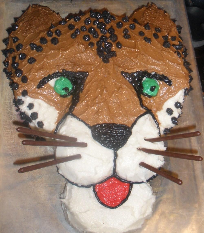 Fine 10 Cool Cheetah Cakes Photo Cheetah Birthday Cake Ideas Cheetah Personalised Birthday Cards Vishlily Jamesorg