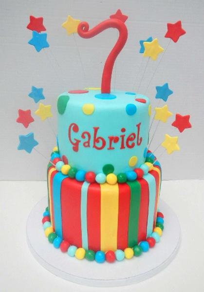 23 Year Old Boy Birthday Cakes Via Colorful Cake