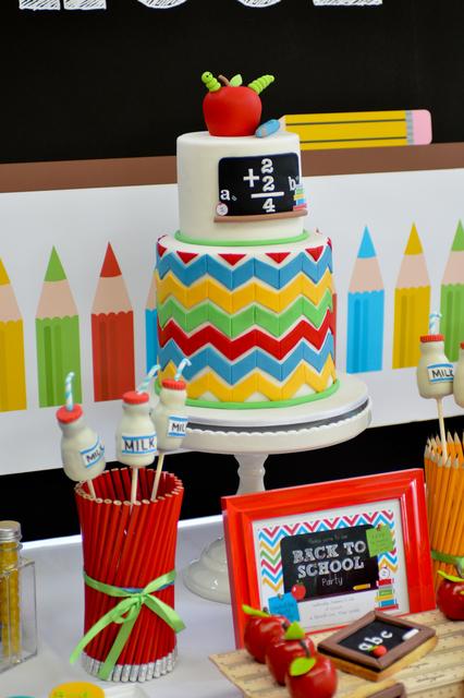 9 School Themed Birthday Cakes Photo School Themed Birthday Cake