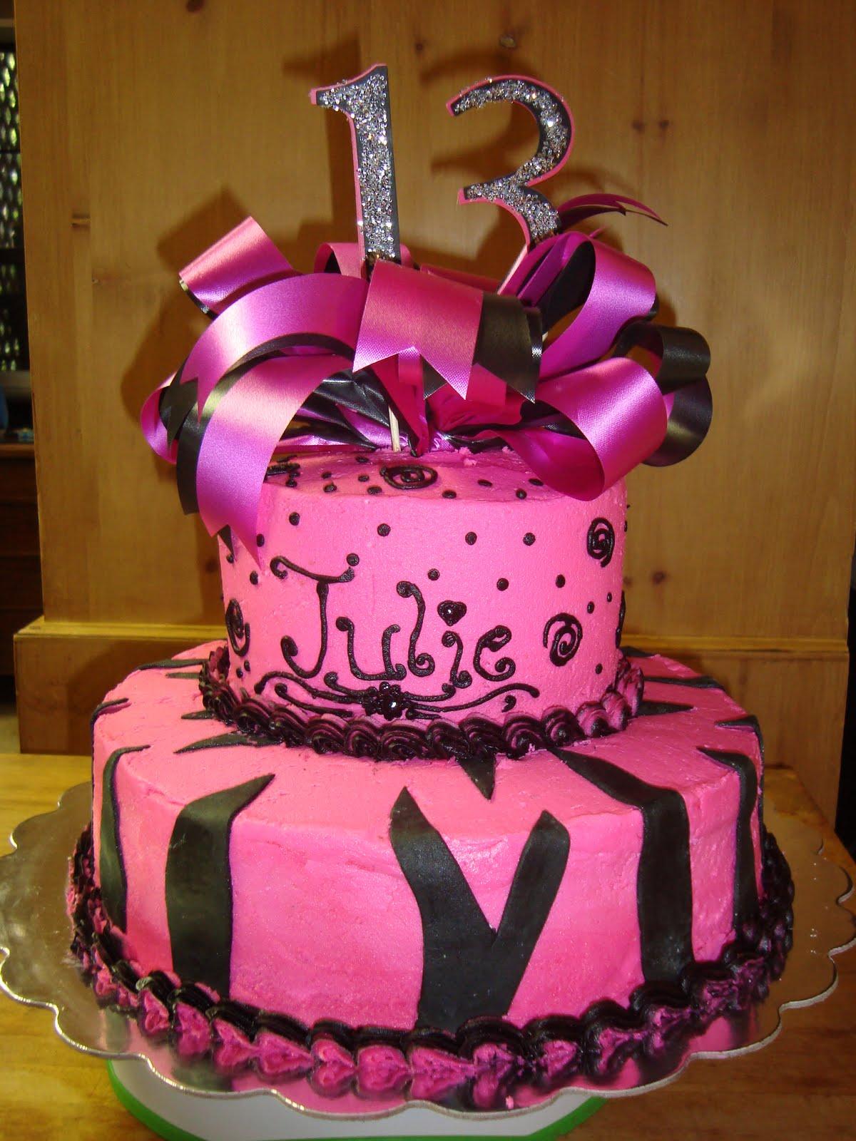 Surprising 9 Birthday Cakes For Girls Turning 13 Photo Teenager 13Th Funny Birthday Cards Online Kookostrdamsfinfo