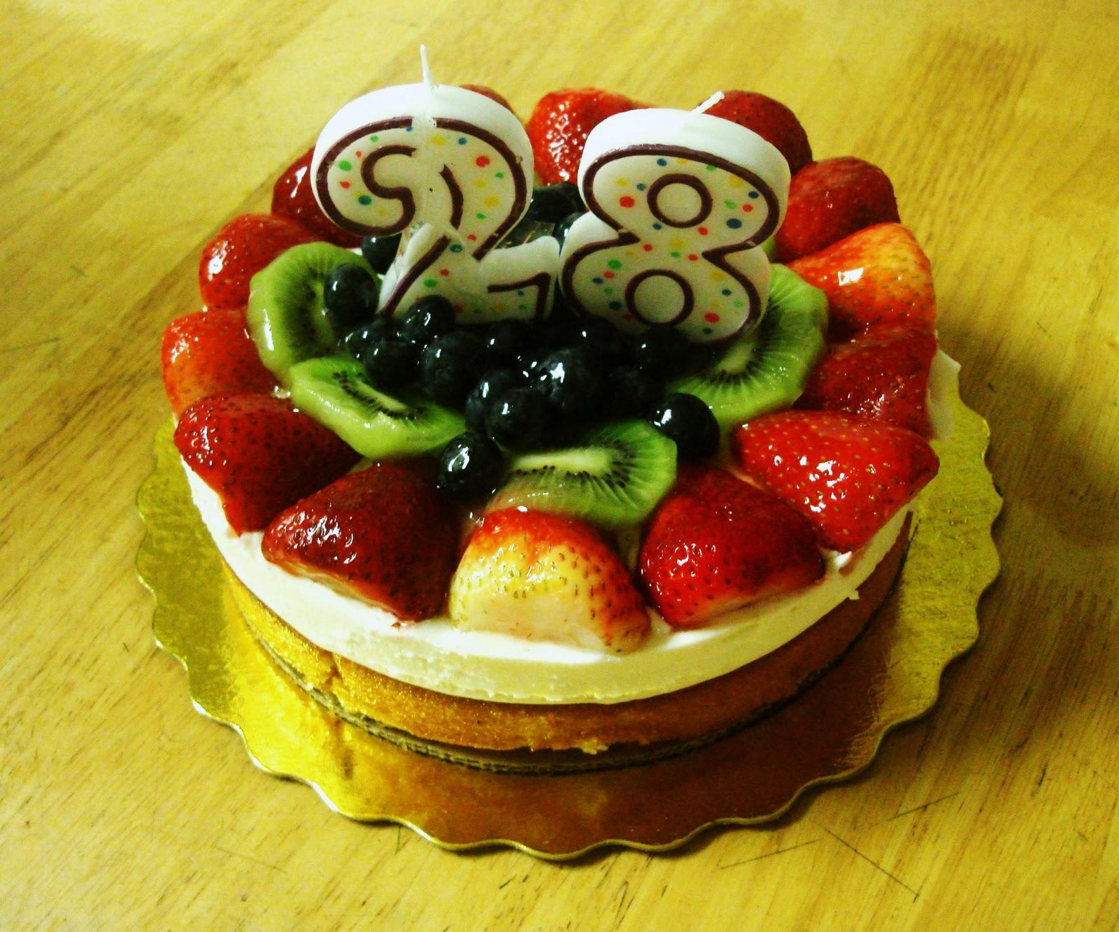 Happy 28 Birthday Cake