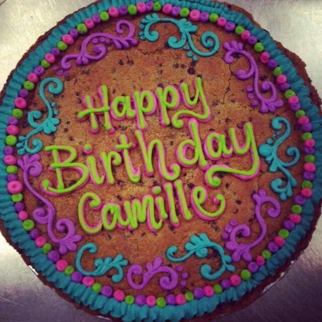 Stupendous 6 Happy Birthday Cookie Cakes Photo Happy Birthday Cookie Cake Funny Birthday Cards Online Alyptdamsfinfo