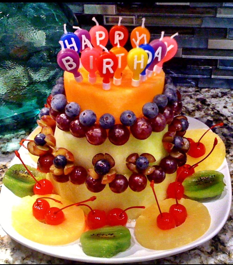 7 Most Beautiful Birthday Cakes Fruit Photo Most Beautiful Fruit