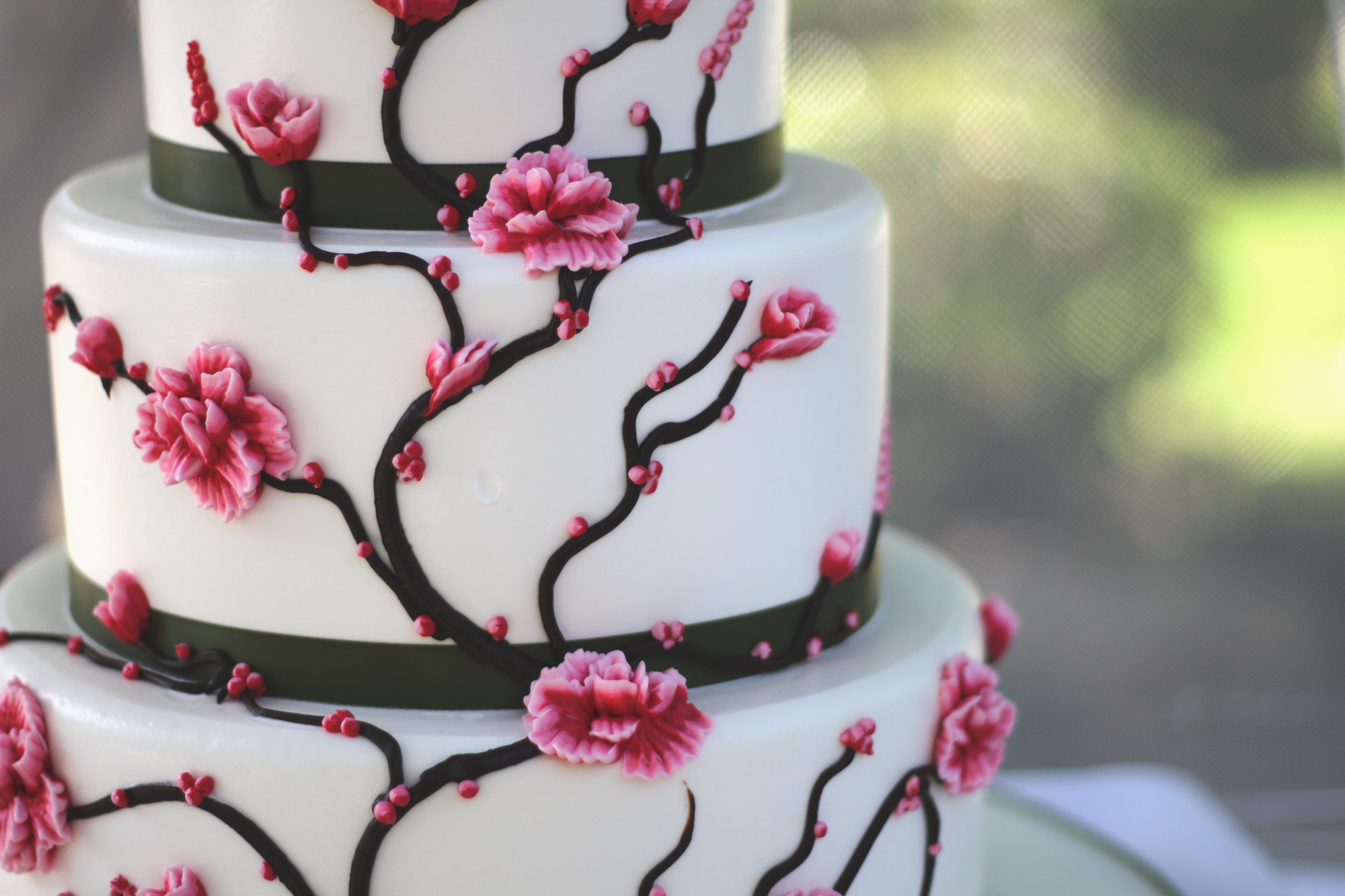 11 Wilton Wedding Cakes With Japanese Cherry Blossoms Photo Cherry