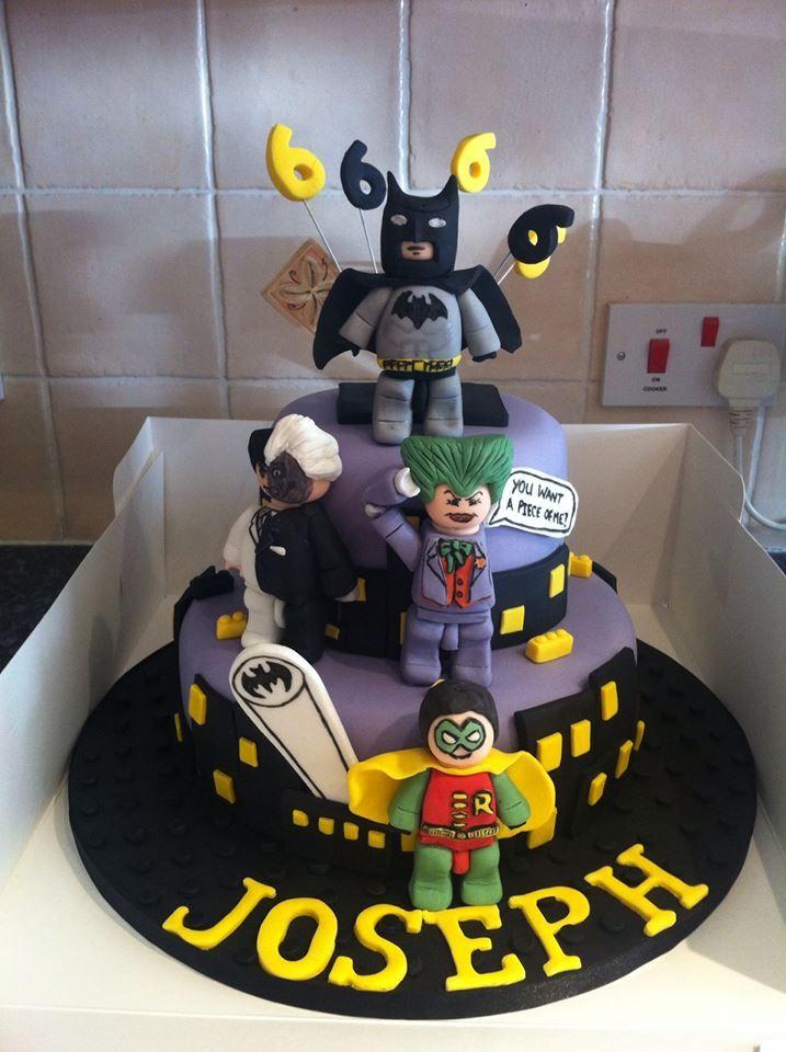 Strange 6 Batman Movie Cakes Photo Lego Batman Cake Lego Batman Personalised Birthday Cards Akebfashionlily Jamesorg