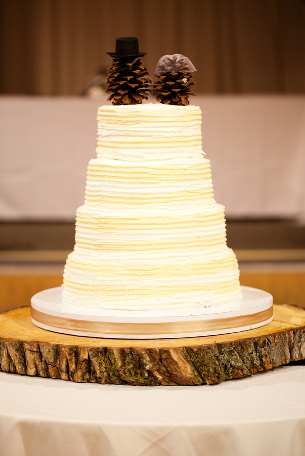 12 Simple Rustic Wedding Cakes For Groom Photo - Birch Tree Cake ...