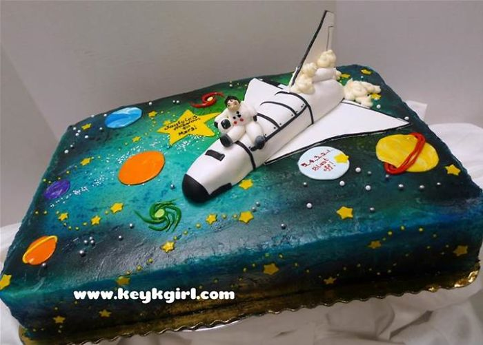 Wondrous 9 Space Galaxy Birthday Cakes Photo Galaxy Birthday Cake Space Personalised Birthday Cards Vishlily Jamesorg