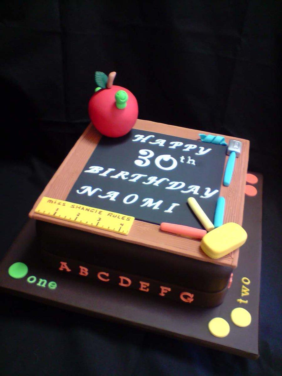 Peachy 8 Nice Cakes For Teachers Photo Teacher Birthday Cake Teacher Birthday Cards Printable Inklcafe Filternl
