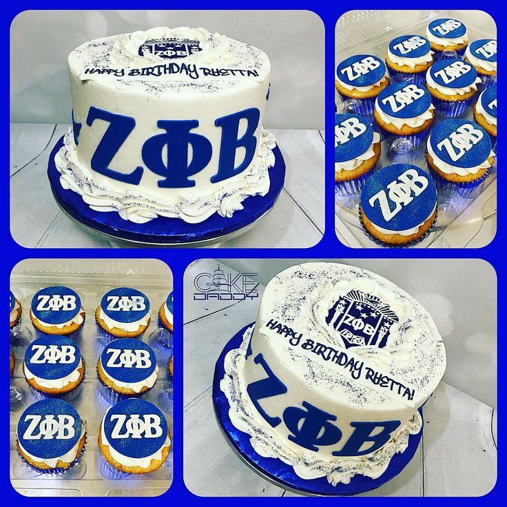 Zeta Phi Beta Cake Images