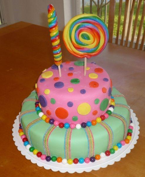 9 Girls 10th Birthday Party Cakes Photo