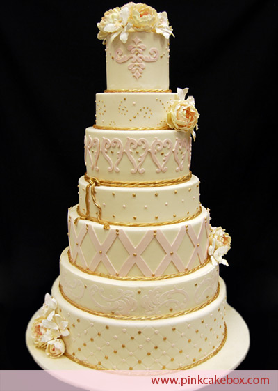 7 Tier Cake Wedding
