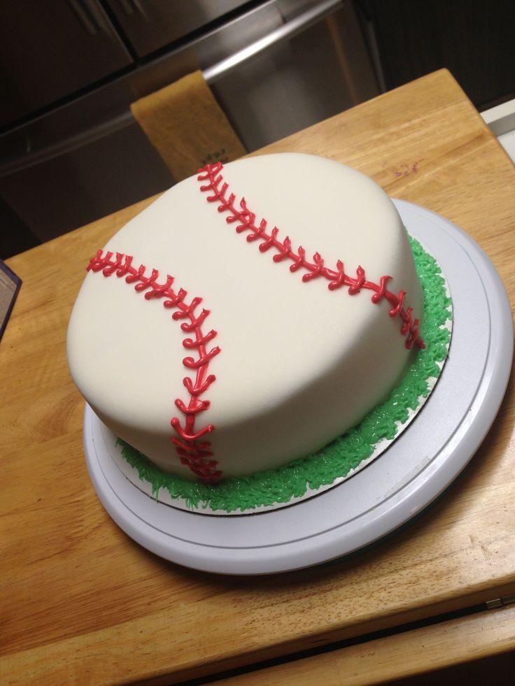13 Green Baseball Cakes Photo Baseball Birthday Cake Ideas