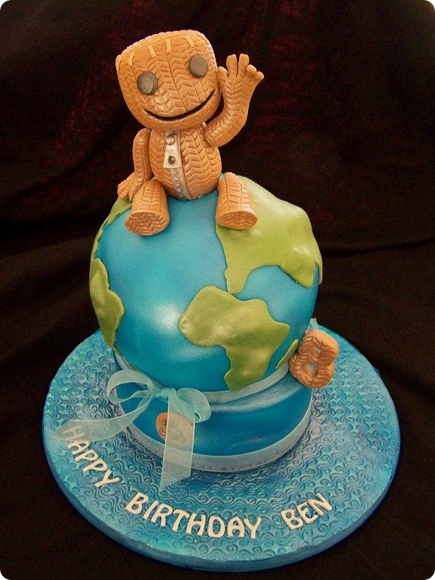 Pleasing 7 Littlebigplanet Game Cakes Photo Big Cool Birthday Cakes Birthday Cards Printable Riciscafe Filternl