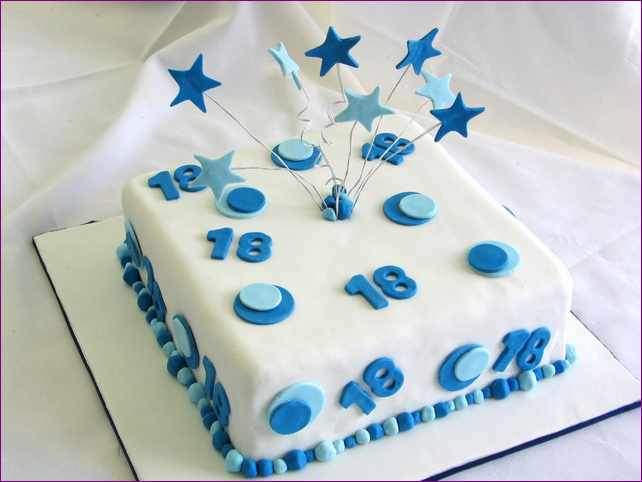 10 18th Birthday Cakes Square Photo 18th Birthday Cake Ideas For