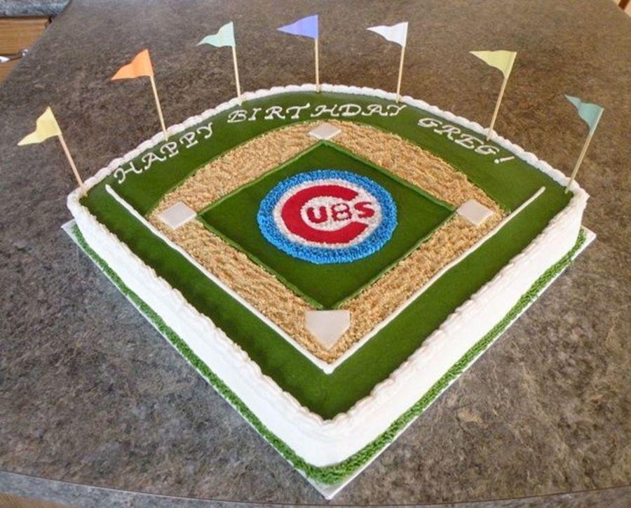 Amazing 5 Chicago Cubs Birthday Cupcakes Photo Chicago Cubs Cupcakes Funny Birthday Cards Online Ioscodamsfinfo
