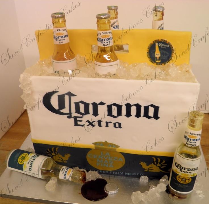 11 Corona Birthday Cakes For A Man Photo Corona Beer Birthday Cake