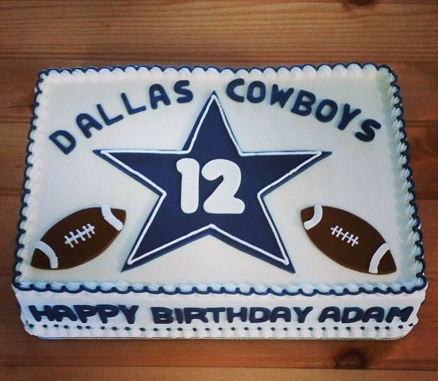 9 Best Birthday Cakes In Dallas Photo Dallas Cowboys Birthday Cake