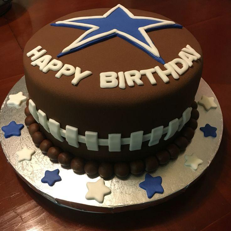 Pleasant 9 Best Birthday Cakes In Dallas Photo Dallas Cowboys Birthday Funny Birthday Cards Online Alyptdamsfinfo