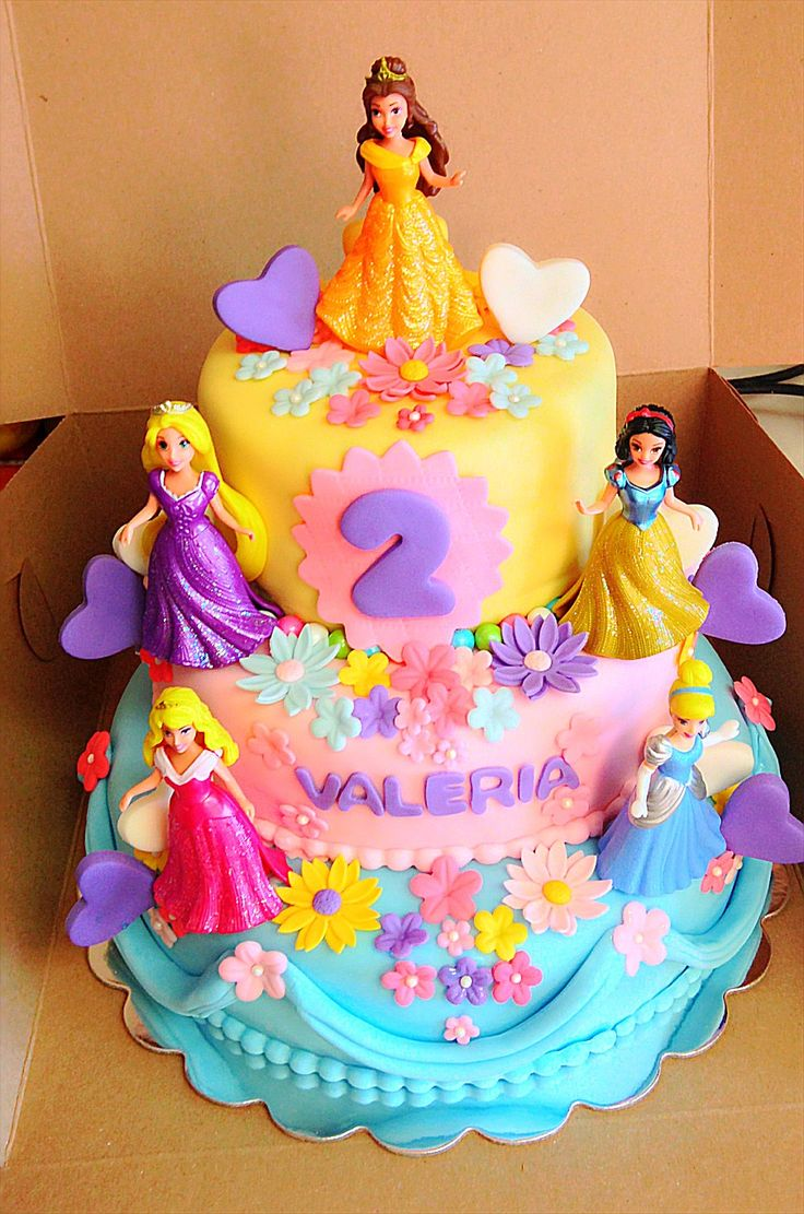 10 Disneys Princess Birthday Cakes Photo Disney Princess Birthday