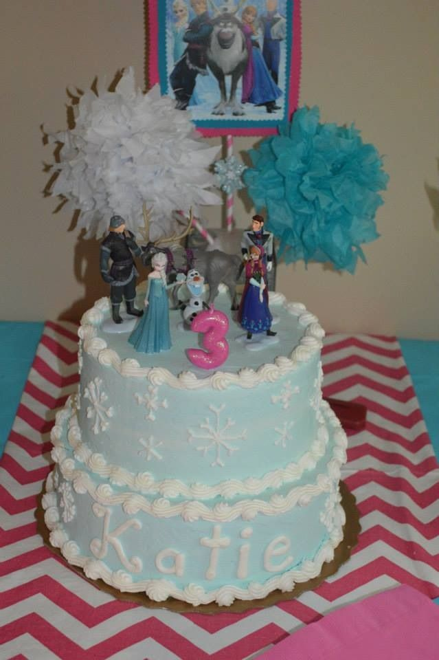 Frozen Kroger Birthday Cakes
