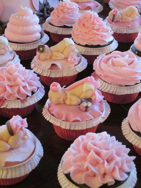 Girl Baby Shower Cupcake Ideas