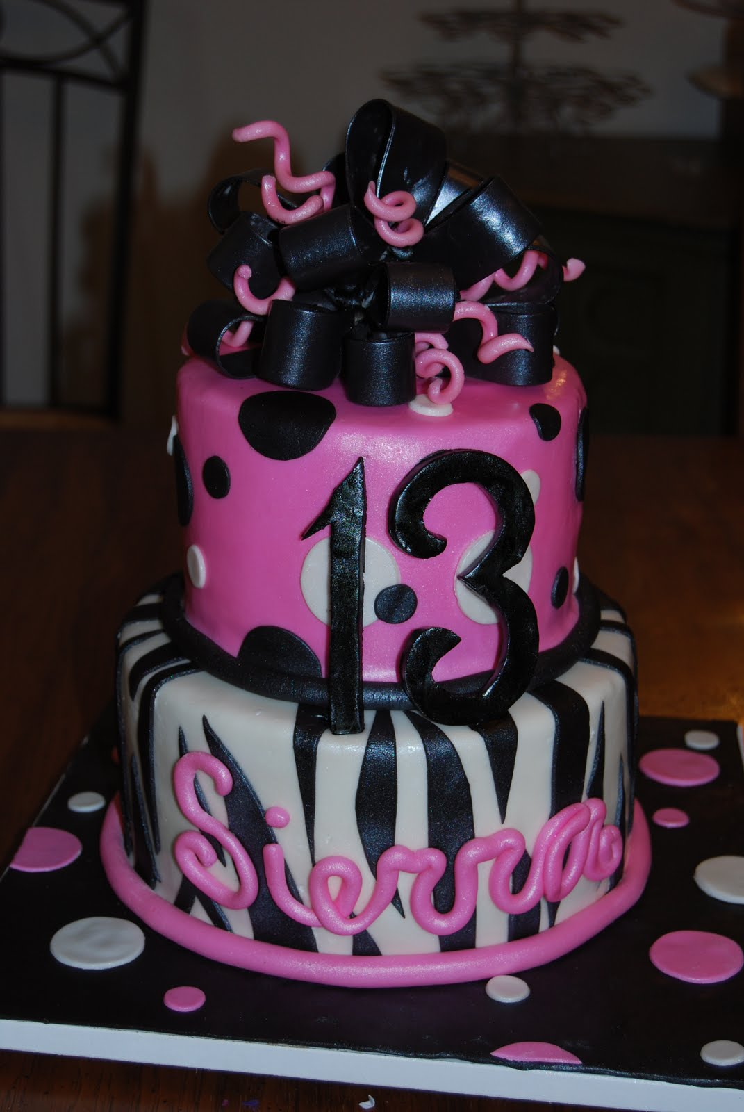 10 12th And 13th Birthday Cakes For Girls Photo Cute 13th Birthday