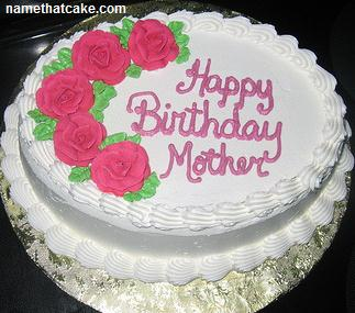 7 Special Mom Birthday Cakes Photo Happy Cake