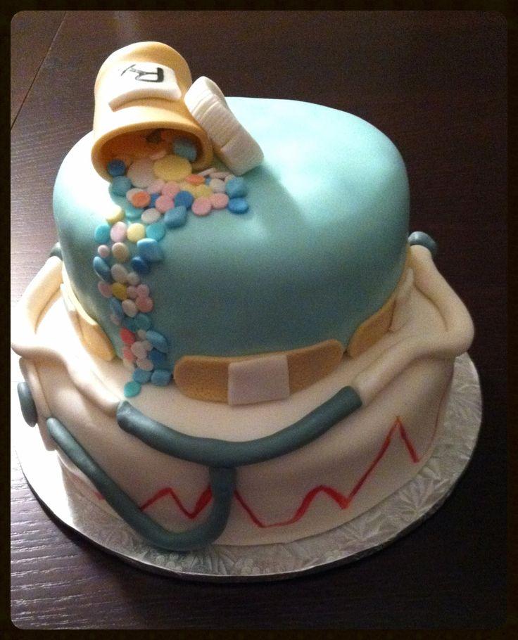 12 Nurse Aide Cakes Photo Nursing School Graduation Cake Nursing