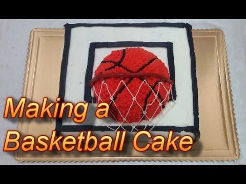 8 Homemade Basketball Cakes Photo Basketball Cake Basketball Cake