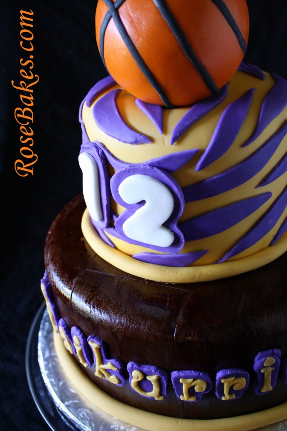 Girl Basketball Birthday Cake Via Louisiana State University