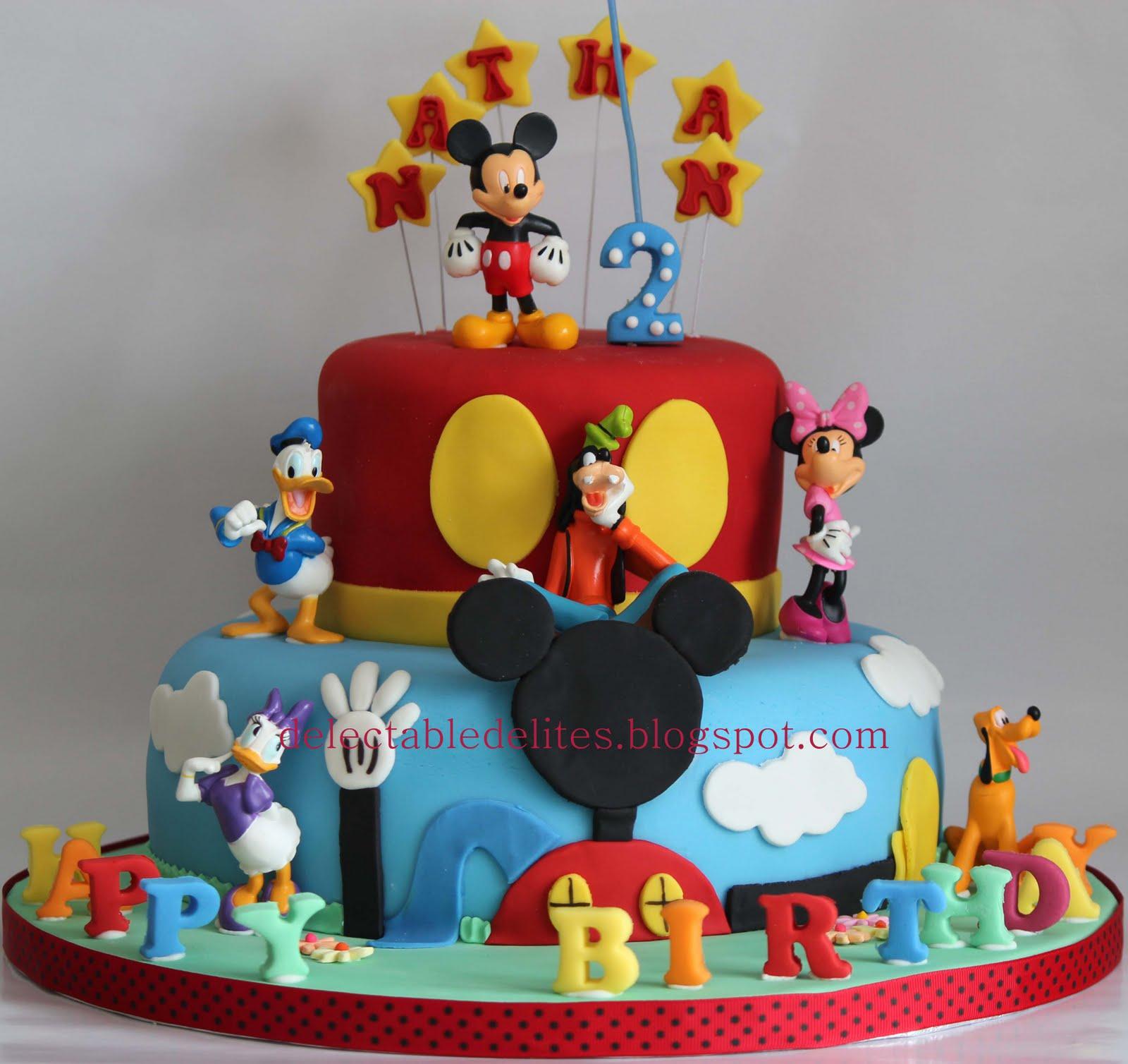 Marvelous 12 Design For Mickey Mouse Birthday Cupcakes Photo Mickey Mouse Funny Birthday Cards Online Elaedamsfinfo
