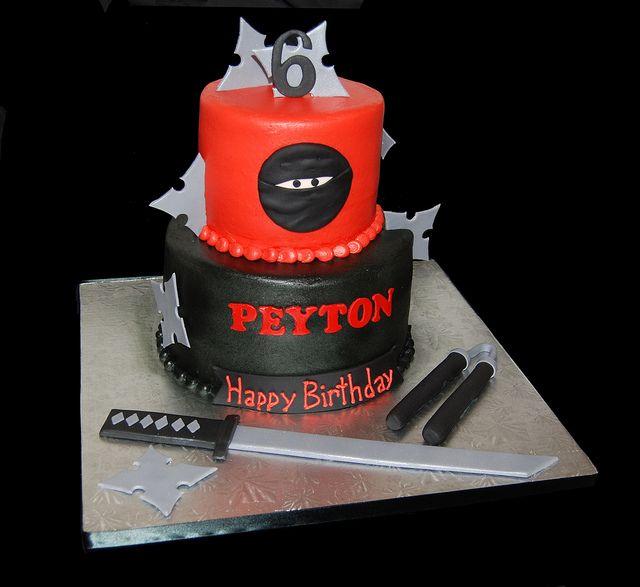 Strange 13 Ninja Boy Cakes Photo Ninja Warrior Birthday Cake 12 Boy Funny Birthday Cards Online Hendilapandamsfinfo