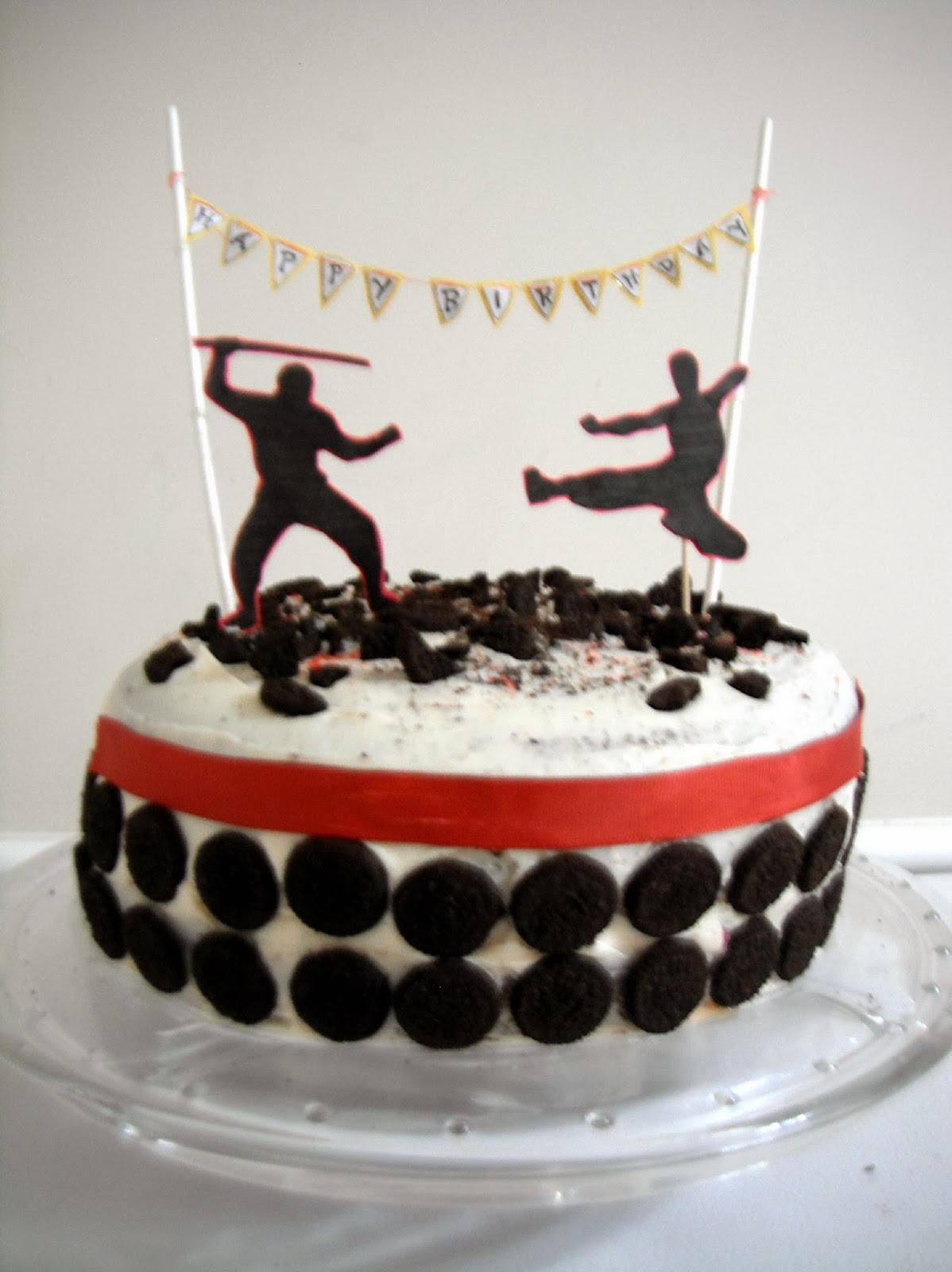 13 Ninja Boy Cakes Photo - Ninja Warrior Birthday Cake, 12 Boy