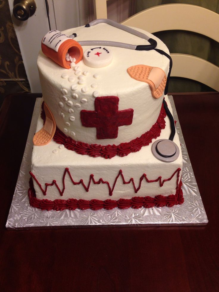 12 Nurse Aide Cakes Photo Nursing School Graduation Cake Nursing