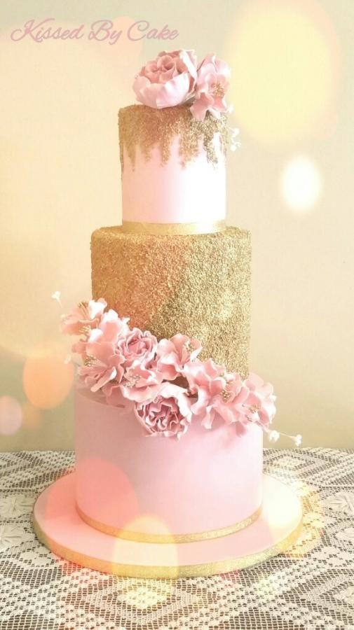 11 Girls Glitter Cakes Photo Glitter Baby Girl Shower Cake