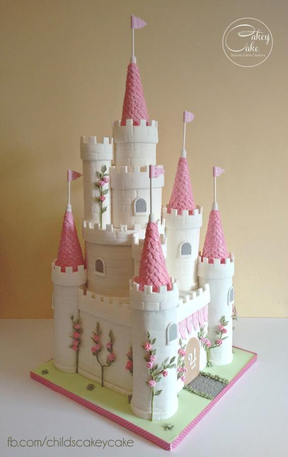 9 Cakes Like A Castle Photo Princess Castle Cake Princess Castle