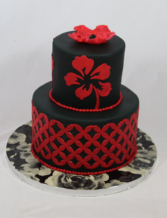 Superb 11 Birthday Cakes Red Black And White With The Letter Photo Red Funny Birthday Cards Online Bapapcheapnameinfo