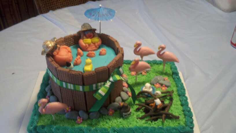 12 Funny Redneck Anniversary Cakes Photo Redneck Birthday Cake