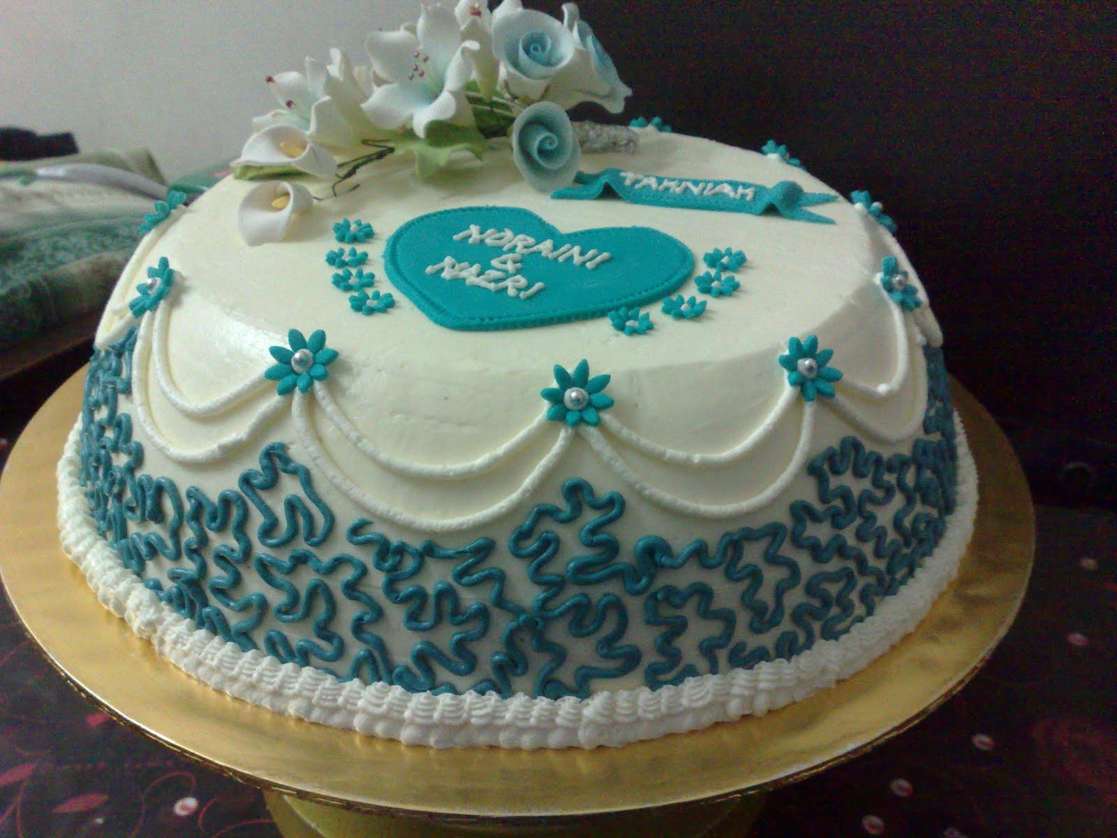8 Single Layer Buttercream Wedding Cakes No Fondant Photo - Single ...