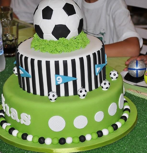 11 13 Happy Birthday Soccer Cupcakes Photo Soccer Birthday Party