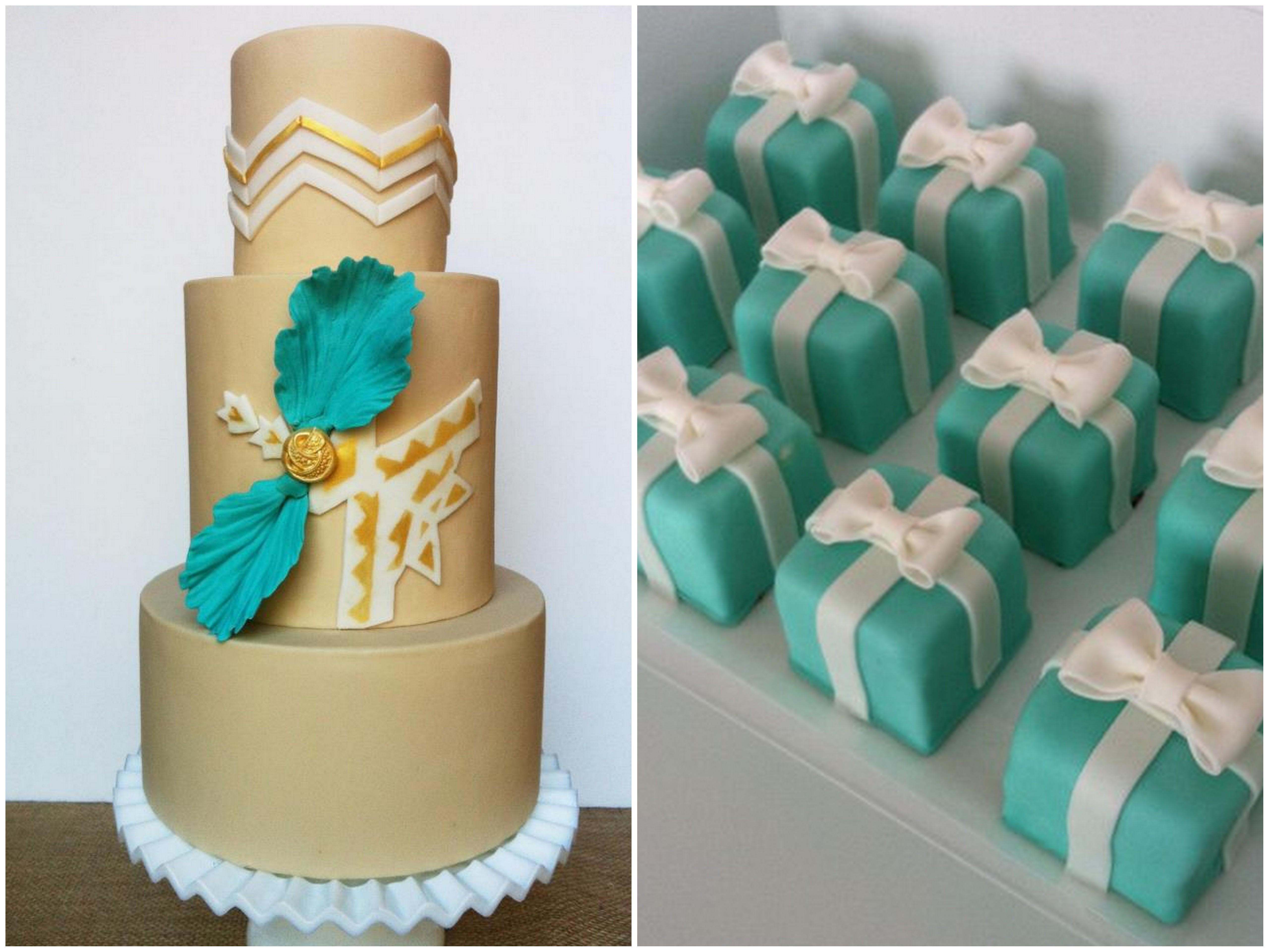10 Tiffany Box Cupcakes Photo - Tiffany Blue Cake and Cupcakes ... 6e22009d5