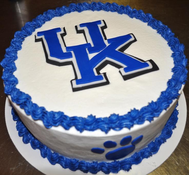 Awesome 13 University Of Kentucky Themed Birthday Cakes Photo University Funny Birthday Cards Online Kookostrdamsfinfo