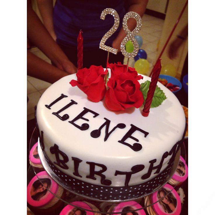 11 28th Birthday Cakes Girls Photo