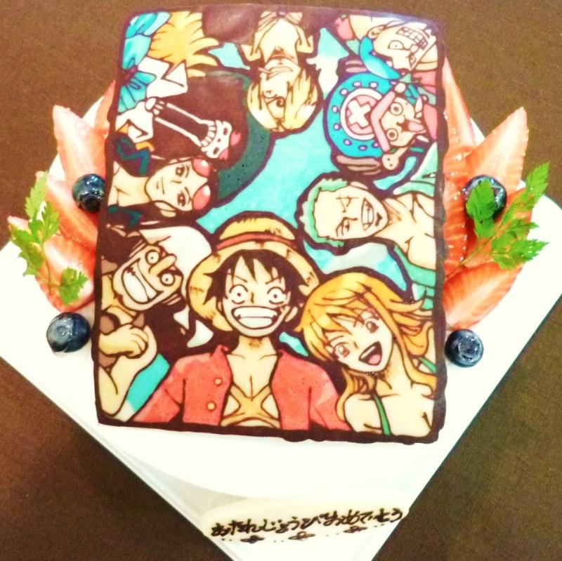 10 Japan Anime Cakes Photo Anime Birthday Cake Anime Birthday