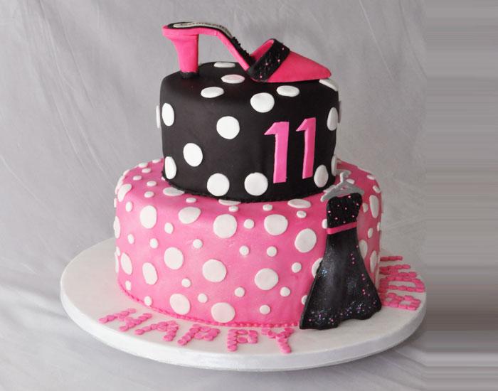 Birthday Cake Via Girls 11th