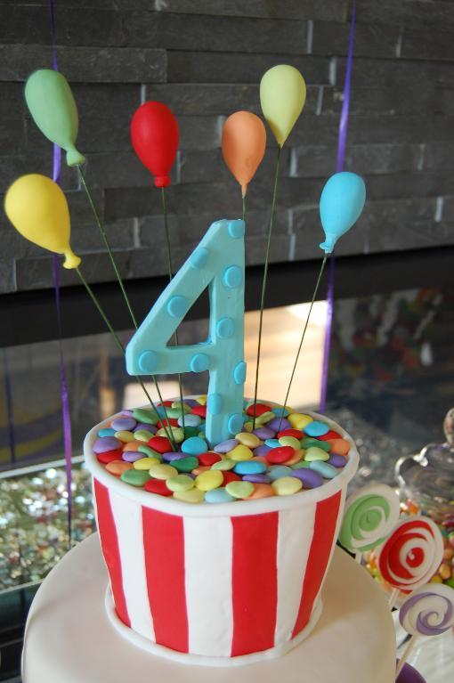 Boys 4th Birthday Cake