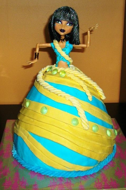 Pleasing 13 Of Monster High Cleo Cakes Photo Cleo De Nile Monster High Personalised Birthday Cards Sponlily Jamesorg