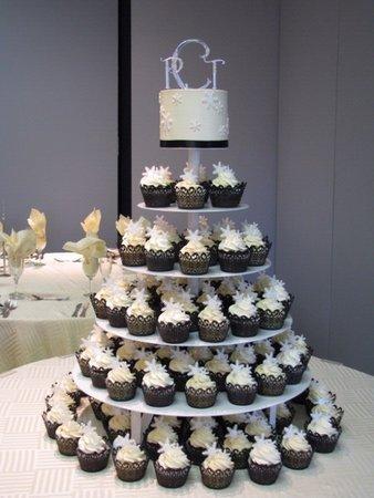 7 Wedding Cupcakes Instead Of Cake Photo Cupcake Wedding Cake