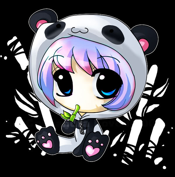 6 Anime Cartoon Cute Panda Cupcakes Photo Cute Cartoon Cupcakes